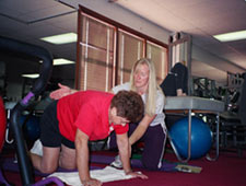 Strength for Life Health Center instructor Cheri York-Whitely